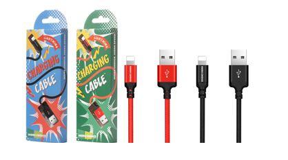 Кабель MORE CHOICE USB (K12i) для Apple 8pin (1м)
