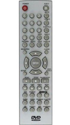 Пульт для телевизора Shivaki RDV-850 DVD ic  не оригинальный корпус техпак