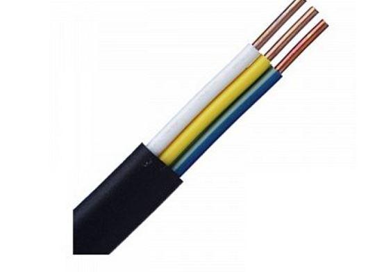 Кабель ВВГнг-П 3*2,5 черный (100м) до 0,66 кВ, ГОСТ 31996-2012