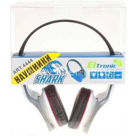 Наушники ELTRONIC 4444 SHARK полноразмерные белые