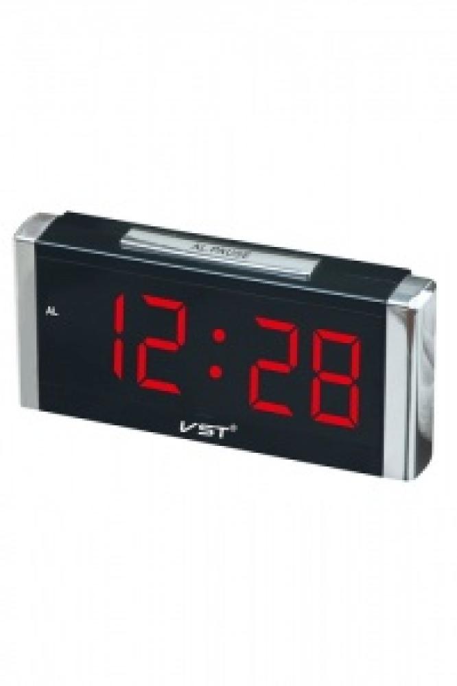 Часы настольные VST-731/1 (красный)
