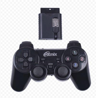 Джойстик RITMIX GP-020WPS игровой беспров. для PC черный
