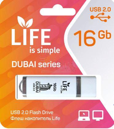 Флеш-карта FUMIKO PARIS 16GB  USB 2.0 черный FU16PABLACK-01