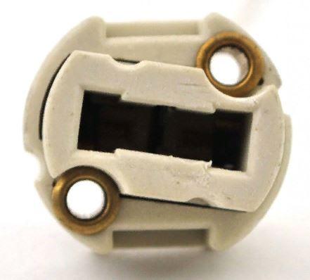 Патрон G9 круглый с проводами 2*8см SMART BUY