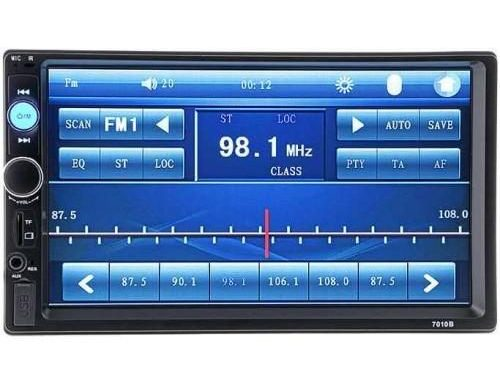 Автомагнитола 2 DIN+сенсорный экран+MP5+Bluetooth+USB+AUX+радио 7018B (г1)