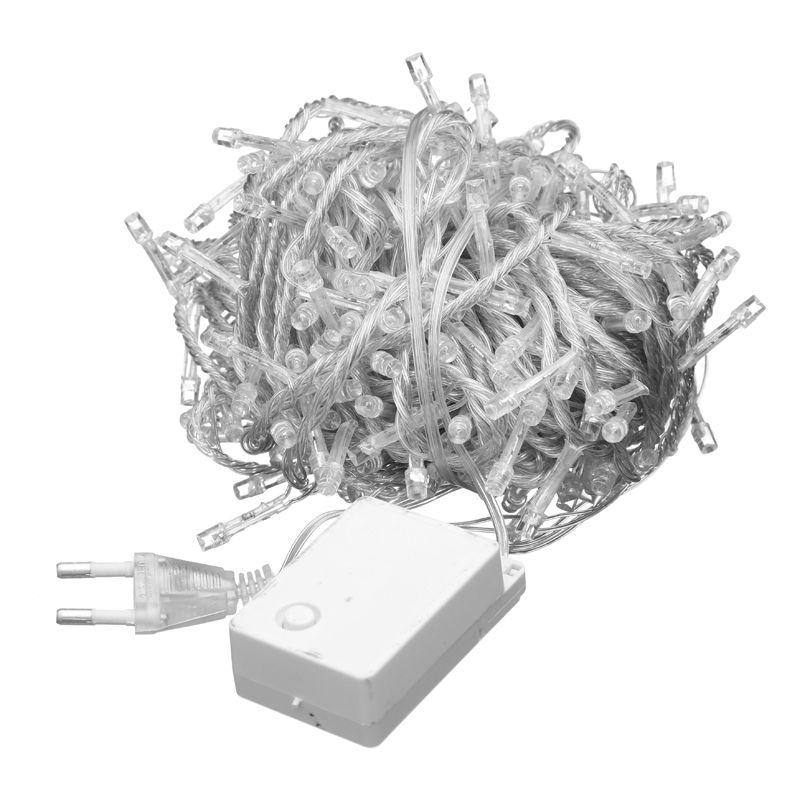 Гирлянда прозрачная 100 светодиодов LED-8011