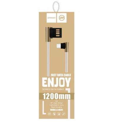 Дата-кабель JOYROOM USB для microUSB  S-M341 1.2м угл.