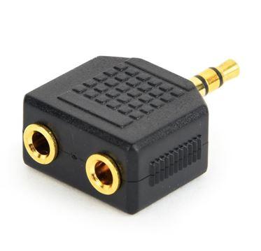 Переходник GEMBIRD  мини джек 2,5 мм - аудио гнездо 3,5 мм