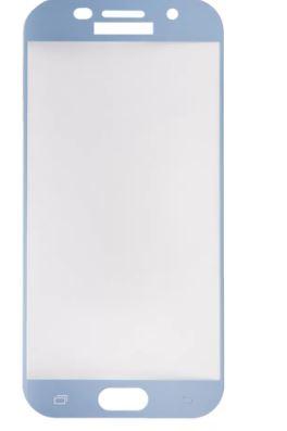 Защитное стекло  A520F для Samsung Galaxy A5 2017, голуб,.техпак