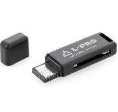 Картридер L-PRO 1193 SY-336  черный microSD