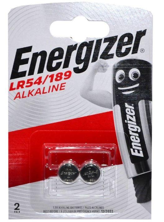 ENERGIZER AG10, G10, 189, 389, 390, GP89A, 390, LR54, LR1130, SR1130W (2) (20) (200)