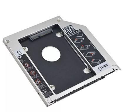 Переходник SATA для дополнительного жесткого диска в ноутбук 9.0mm