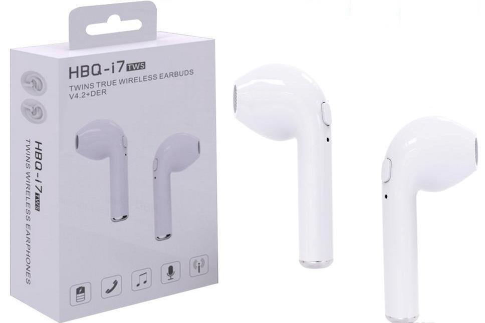 Bluetooth гарнитура  i7R Twins EarBuds White (Белый)