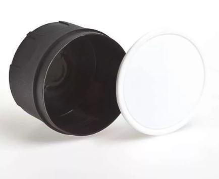 Коробка расп D70*30 для твердых стен с крышкой IEK UKT01-070-030-000