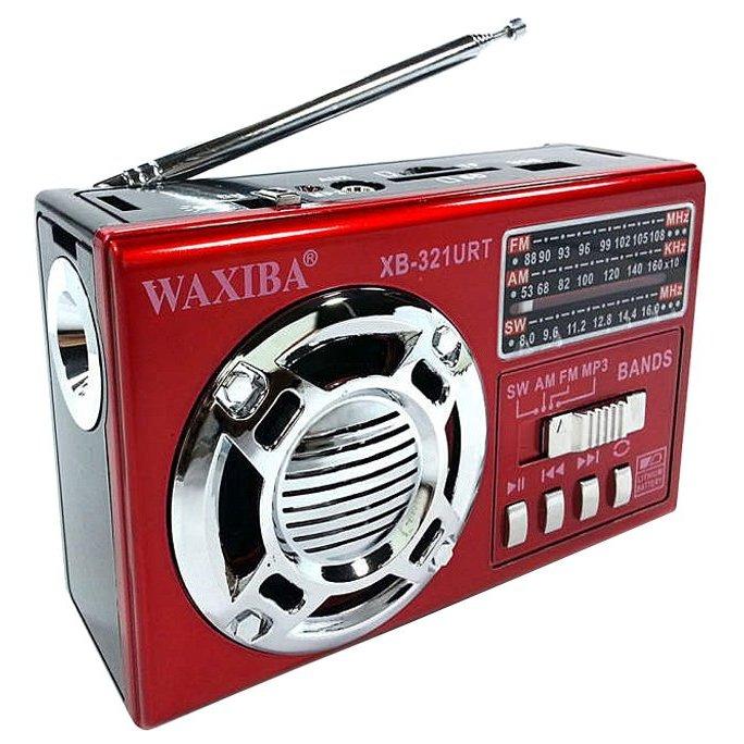 Радиоприемник FM/USB/SD WAXIBA XB-321URT