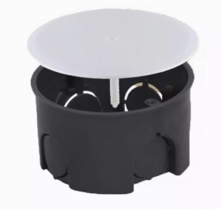 Коробка расп D73*42 для твердых стен с крышкой U-Plast 010-004