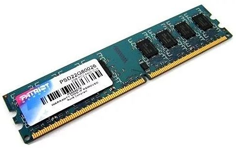 Модуль памяти PATRIOT DDR2 DIMM 2GB 800Mhz PSD22G80026