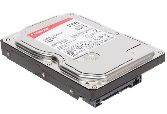 "Жесткий диск TOSHIBA SATA-III 1Tb HDWD110UZSVA P300 7200rpm 64Mb 3.5"""