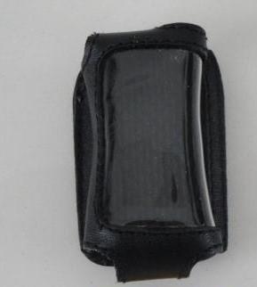 Чехол на сигнализацию SHERIFF ZX-925/ZX-1055 кобура на подложке с кнопкой,кожа черн