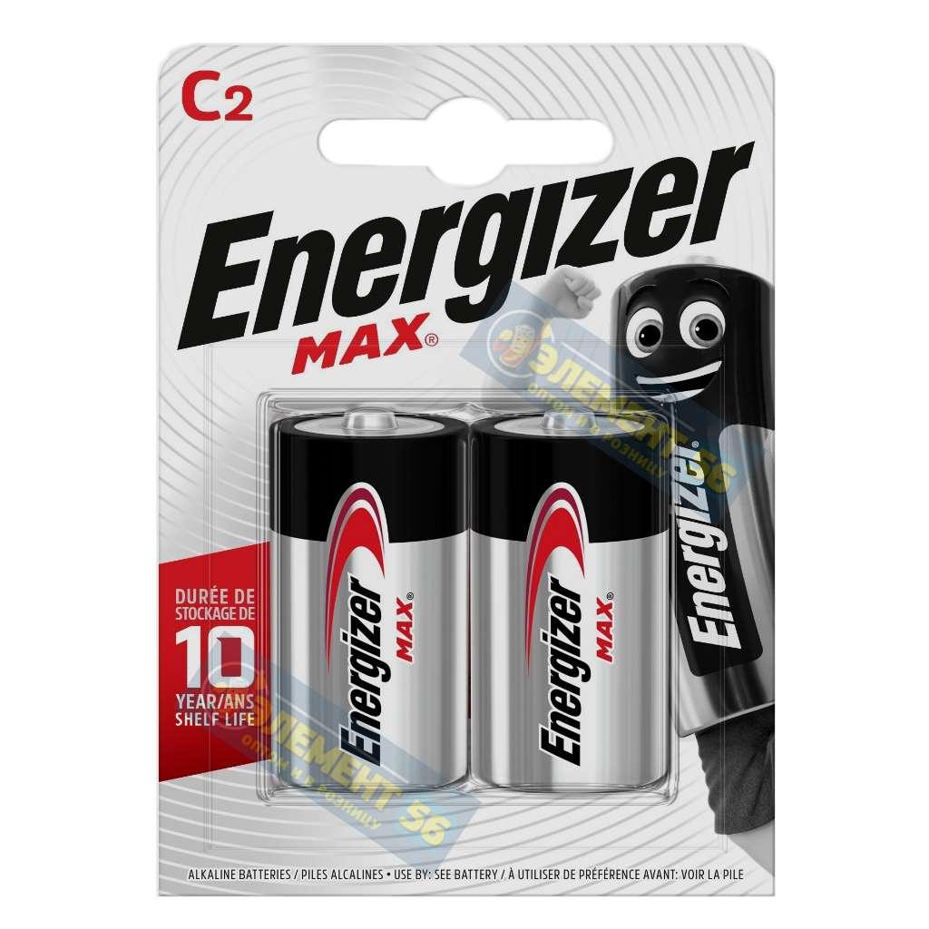 ENERGIZER MAX LR14, MN1400, A343, E93, C 2BL (2) (24)