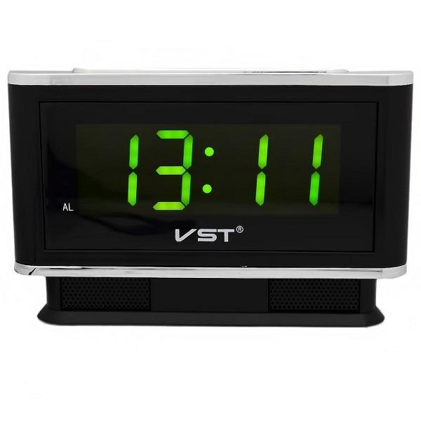 Часы настольные VST-721/2 (зеленый)