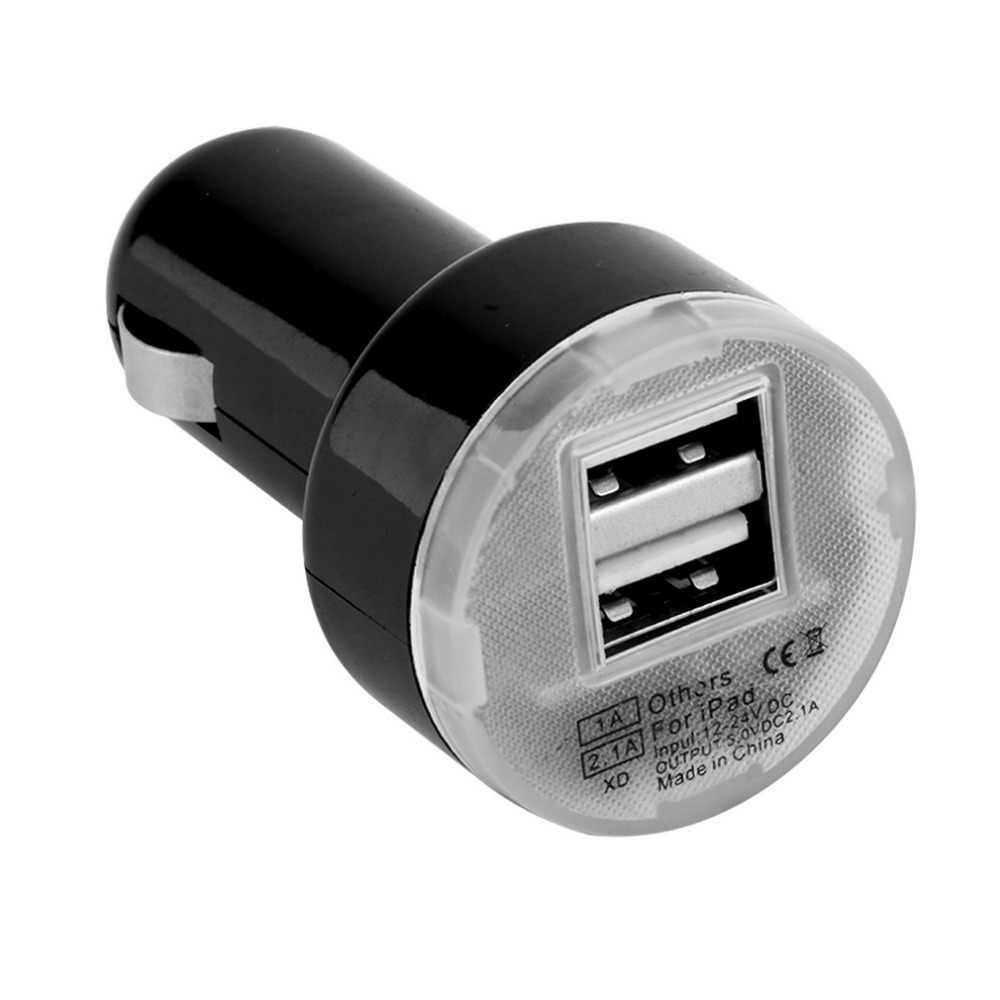 АЗУ USB адаптер 5626 без упаковки черный/белый