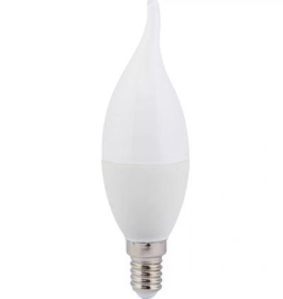 """Лампа ASD Светодиодная C37 7.5w 4000/E14 """"СВЕЧА на ветру"""" дневной"""