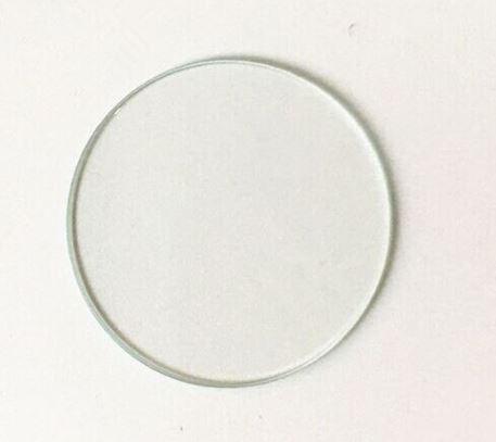 Стекло для часов круглое плоское минеральное 26,3*1,5