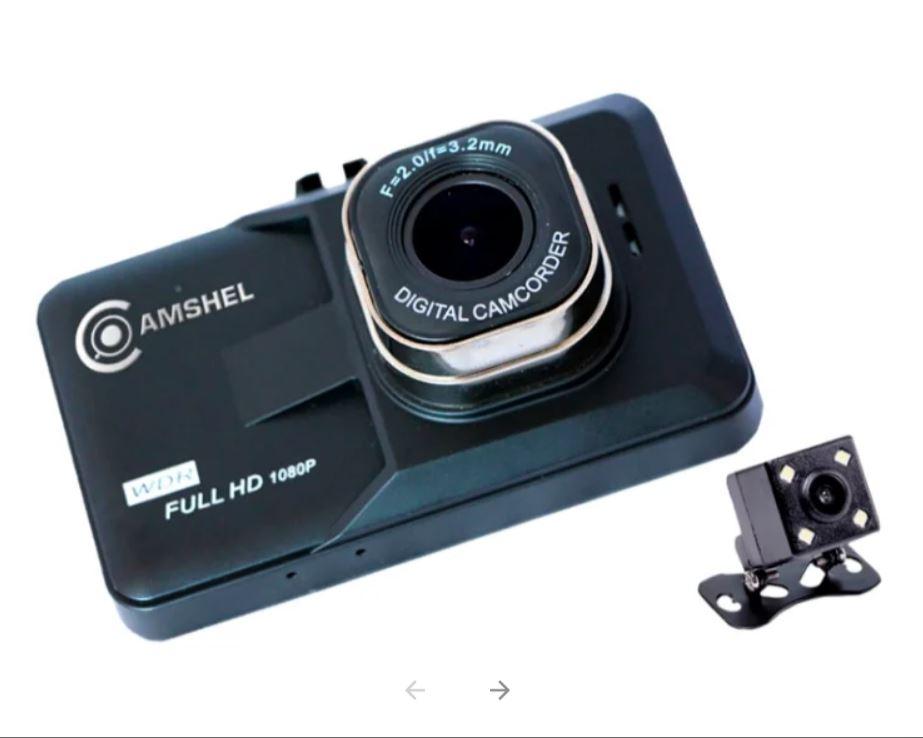 Видеорегистратор Camshel DVR 210 (+ камера заднего вида) (г6)