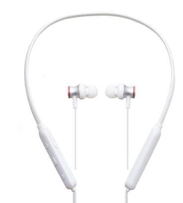 Наушники PRODA PD-BN100 Bluetooth стерео-гарнитура канального типа белая