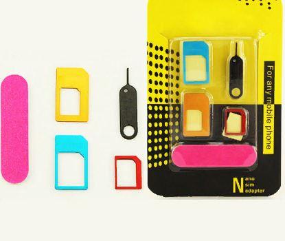 Адаптер для SIM карт в наборе + скрепка САР-6441