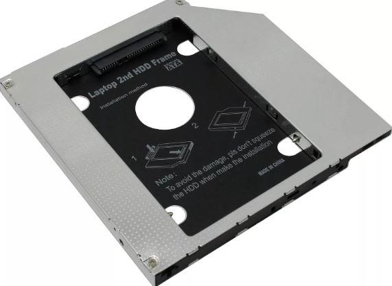 Переходник SATA для дополнительного жесткого диска в ноутбук 9.5mm