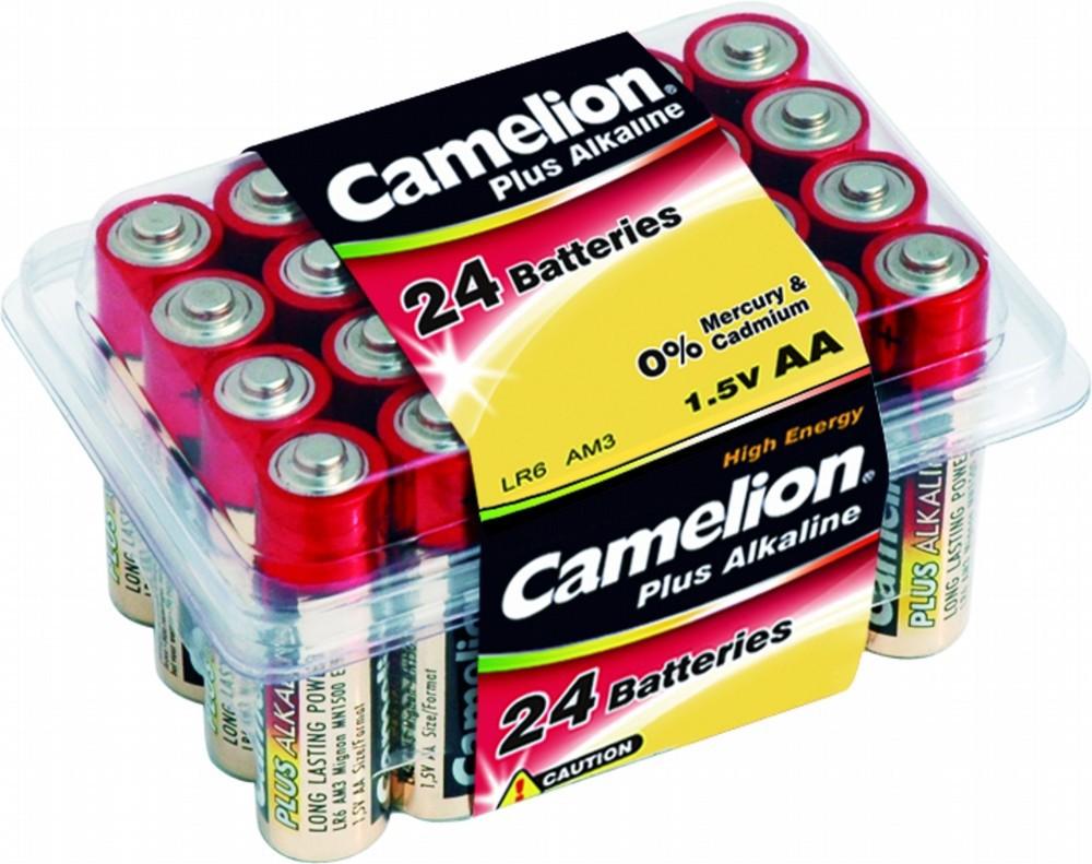 CAMELION LR 6  PLASTIK BOX (24)