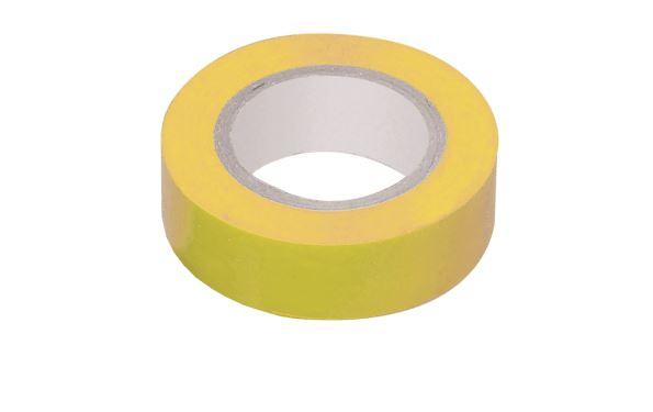 Изолента 0,15*15 мм 20м желтый VKL electric (10/250)