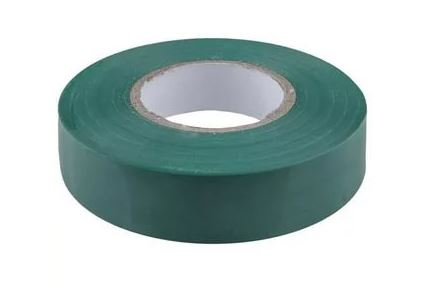 Изолента 0,15*15 мм 20м зеленый VKL electric (10/250)