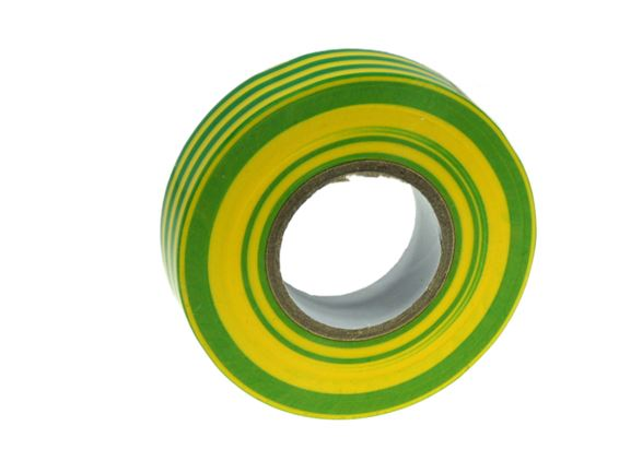 Изолента 0,15*19 мм 20м желто-зеленый VKL electric (10/250)