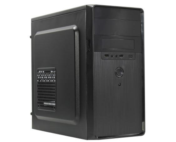 Корпус MInitower ExeGate EX286412RUS BA-309 (mATX без БП, 2*USB )