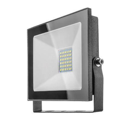 Прожектор светодиодный Онлайт 10W 230V IP65 4000K дневной черный