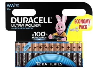 DURACELL LR 03 12BL ULTRA POWER (144)