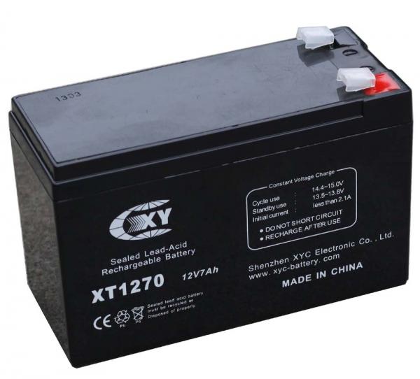 Аккумулятор свинцово-кислотный XT1270 (7A, 12B)