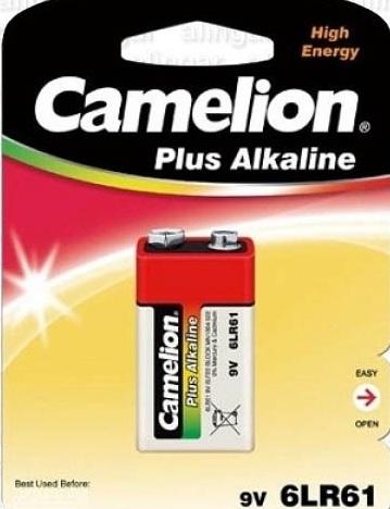 CAMELION 6LR61-1BL (КРОНА-ALKALINE)