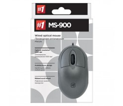 Мышь DEFENDER MS-900 серная 3 кнопки USB 2.0