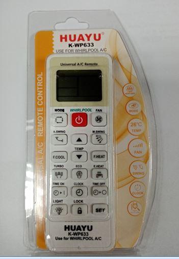 Пульт для кондиционера WHIRPOOL K-WP633