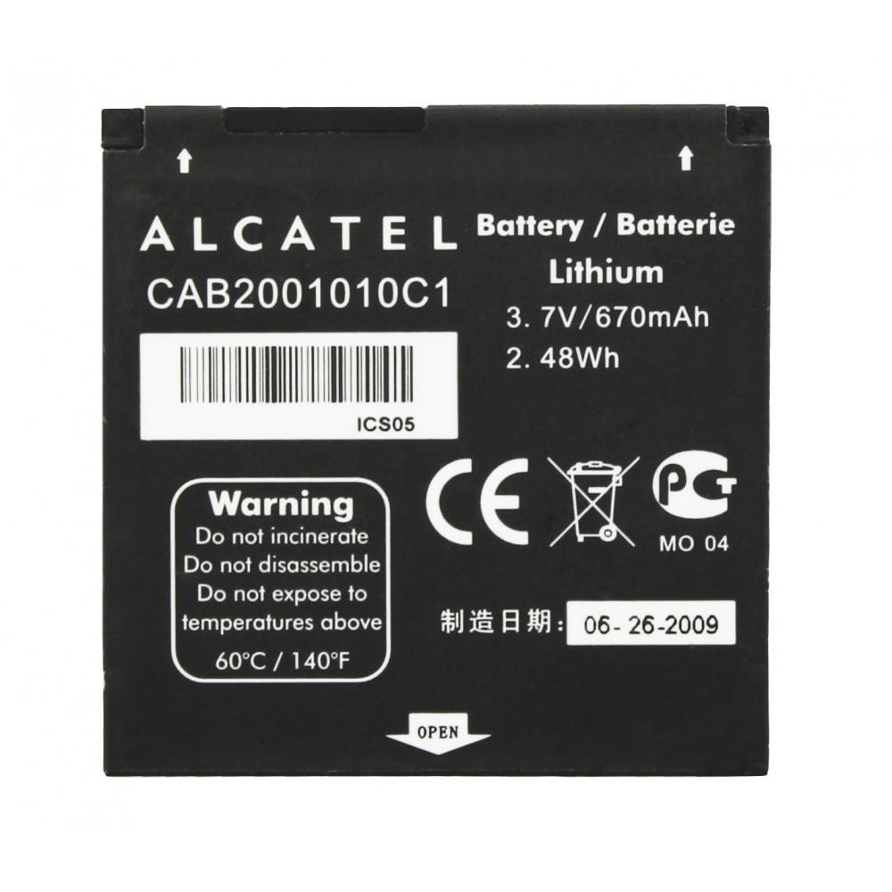 АКБ Alcatel CAB2001010C1 (815) NEW тех упак