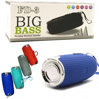 Колонка Big Bass FD3 хром (цвет в ассортименте)