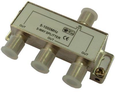 ТВ сплиттер Делитель SAT на 3 TD-203 (5-1000MHz)(rdtv)
