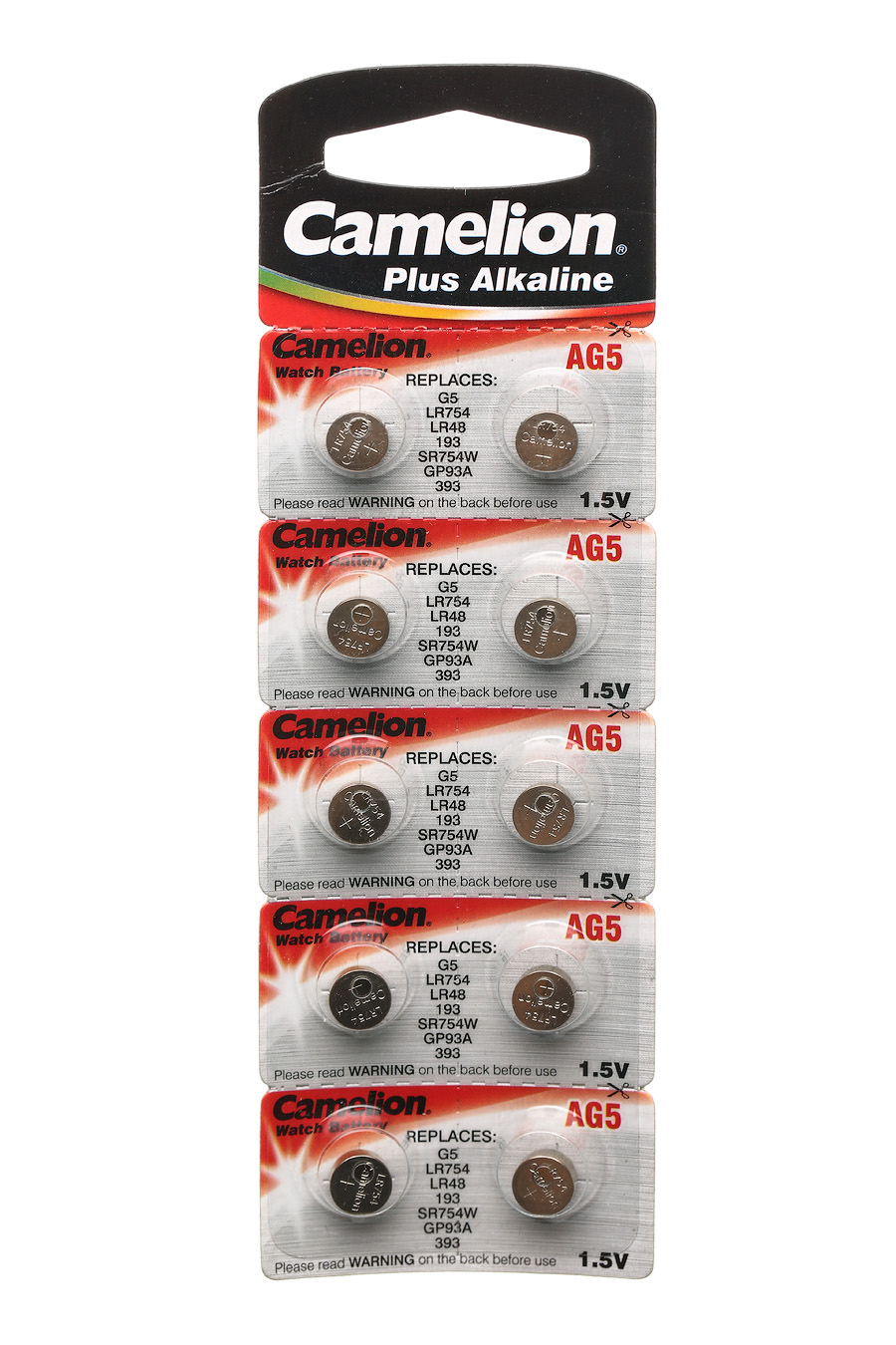 CAMELION AG 05 (393А) LR754 (10) (100)