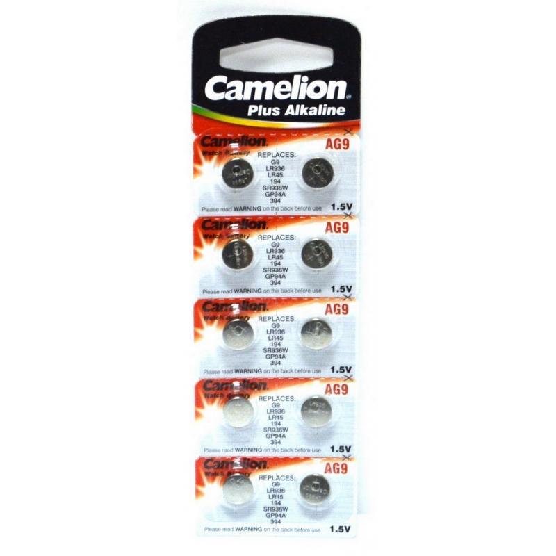 CAMELION AG 09 (394А) LR936 (10) (100)