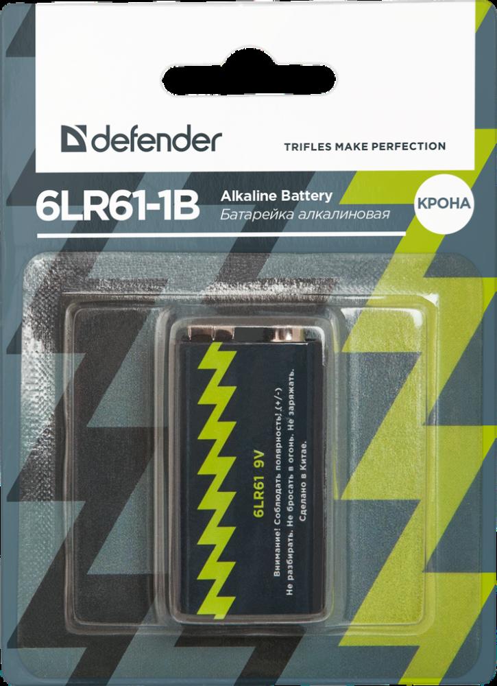 DEFENDER 6LR61 КРОНА ALKALINE 1-BL