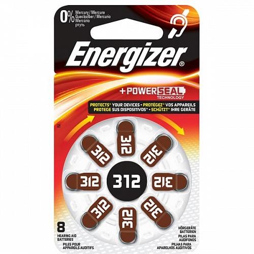 ENERGIZER  ZA312 4BL HEARING AID ДЛЯ СЛУХОВЫХ АППАРАТОВ (4)
